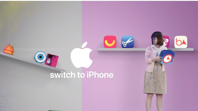 New Apple videos poke fun at Google Play Store, non-iPhone portrait photos