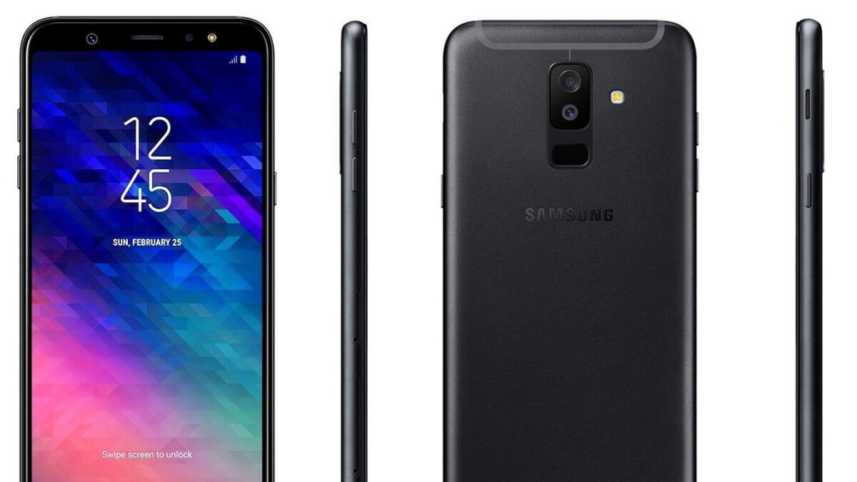 Galaxy A6+ with Galaxy J-like design revealed in new renders