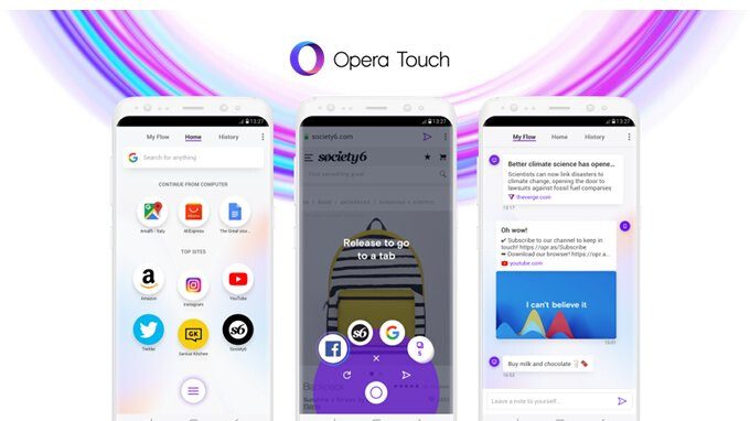 Opera startet neuen mobilen Browser für Android, iPhone-Version kommt bald