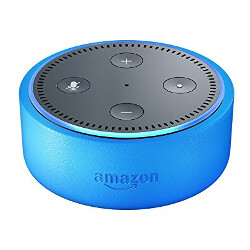 Amazon Echo Dot Kids Edition features bright candy-like colors and age-appropriate Alexa