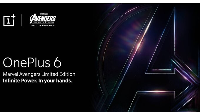 OnePlus 6 Marvel Avengers Limited Edition to be unveiled on May 17 as an Amazon exclusive