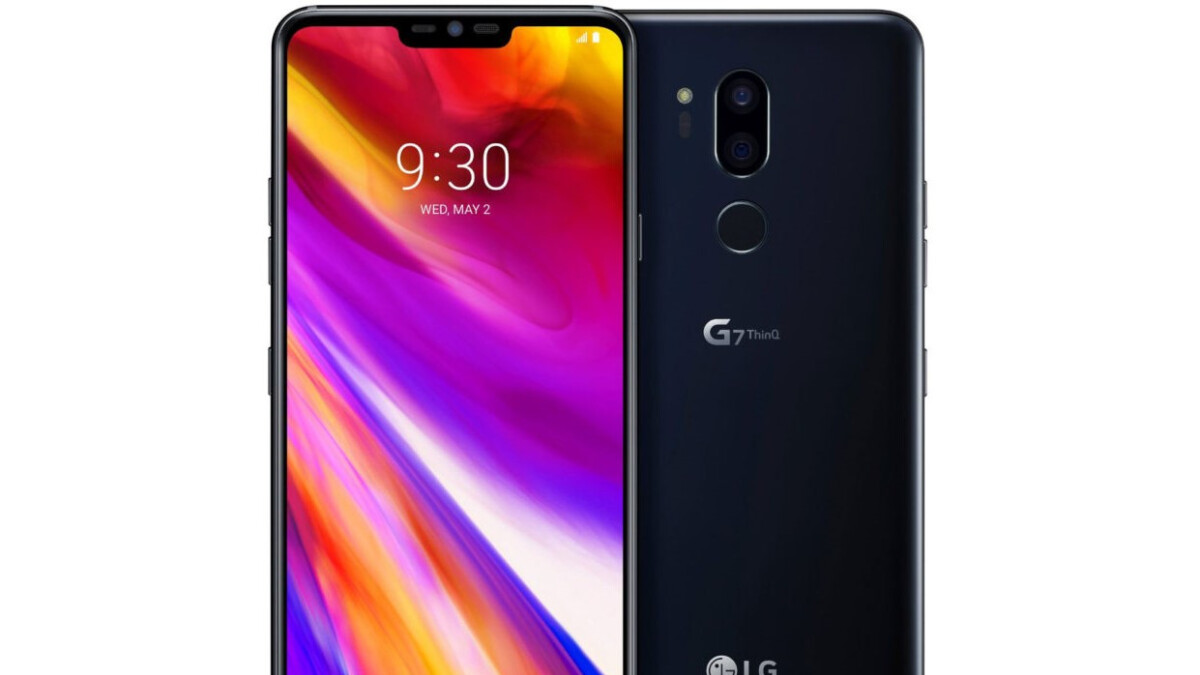 LG G7 ThinQ leaks out again, this time in Aurora Black