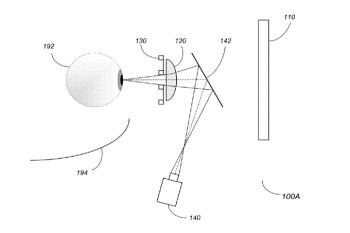 Apple files patent application for an eye tracking system designed for its AR glasses