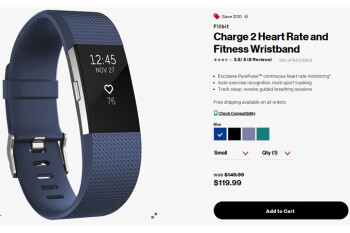 Deal: Verizon offers 20% discount on two Fitbit fitness trackers