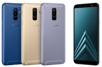 Samsung Galaxy A6 and A6+ are now official: affordable phones with Super AMOLED screens and aspiring cameras