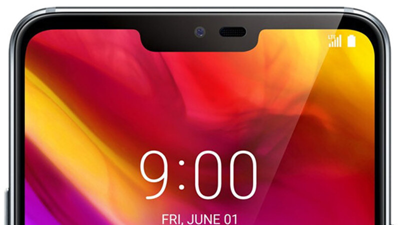 LG G7 ThinQ size comparison vs Galaxy S9, S9+, LG V30, Pixel 2 XL, iPhone X, OnePlus 5T