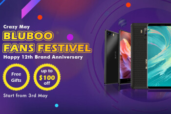 Bluboo's blowout anniversary sale offers free gifts with the S3 battery life champ