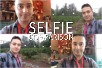 LG G7 ThinQ vs Galaxy S9 vs LG G6 vs LG V30S: Preliminary selfie comparison