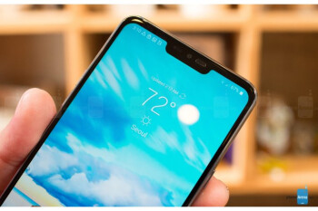 LG says it planned the G7 ThinQ notch design before Apple