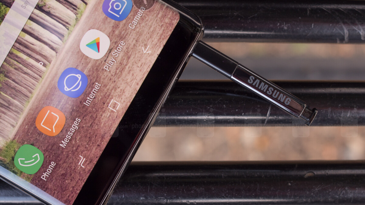 Samsung Galaxy Note 9 in-display fingerprint sensor hinted at in new patent