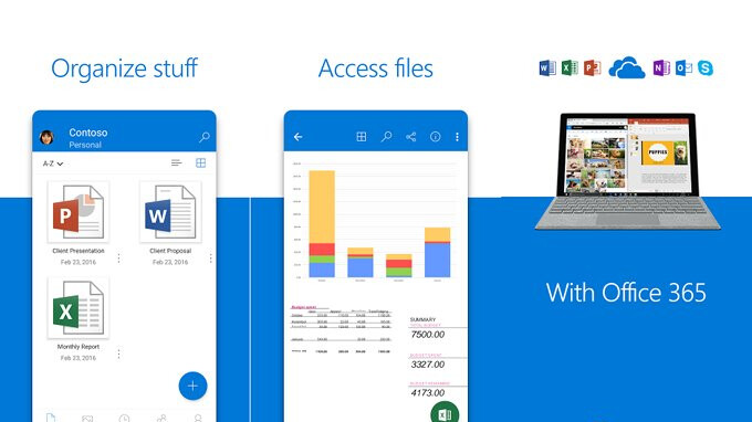 OneDrive for Android gains the option to move the app on an SD card