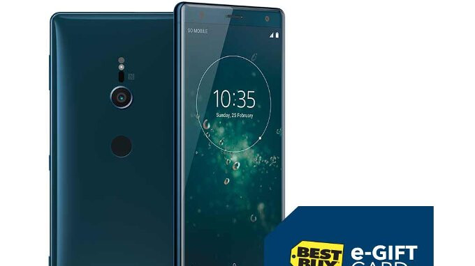 Deal: Sony Xperia XZ2 and XZ2 Compact come with $100 gift cards at Best Buy
