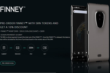 Finney, the first blockchain smartphone, features flagship specs and price