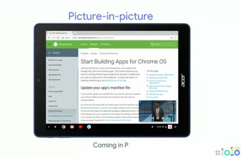 Chrome OS to get Gboard keyboard support, Picture-in-Picture mode with Android P