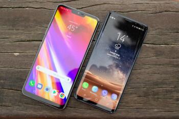 LG G7 ThinQ vs Samsung Galaxy S9: Visual interface comparison
