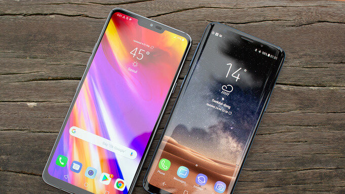 Pubg Mobile Analysed Top End Smartphones Compared With Pc: LG G7 ThinQ Vs Samsung Galaxy S9: Visual Interface