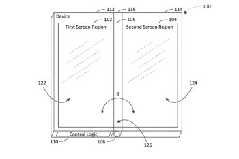 Patent application hints that Microsoft's folding phone could have three screens