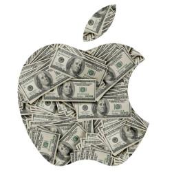 Apple's profit last quarter was 143% higher than Amazon's lifetime earnings