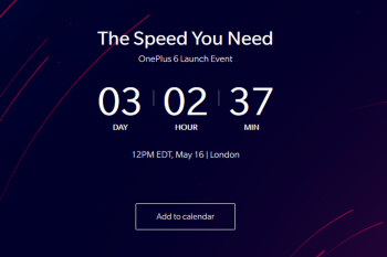 OnePlus 6 teaser tells us how many days left until the phone is unveiled