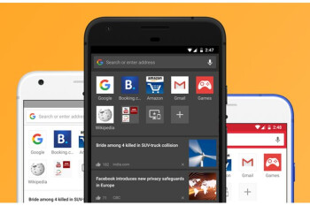 Opera for Android updated with night mode, QR code reader, themes, more
