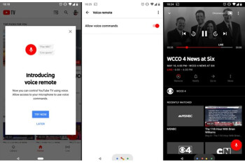 """YouTube TV gains """"voice remote"""" on Android devices"""