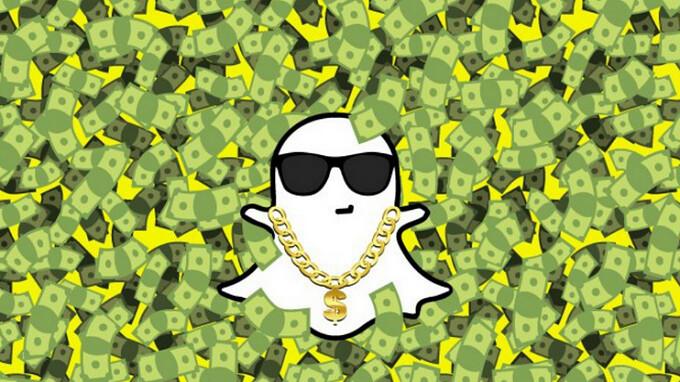 Snapchat zeigt sechs Sekunden lange Anzeigen an, die nicht über