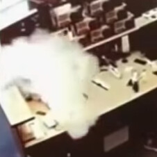 Apple iPhone with damaged battery and screen catches fire inside repair shop (VIDEO)