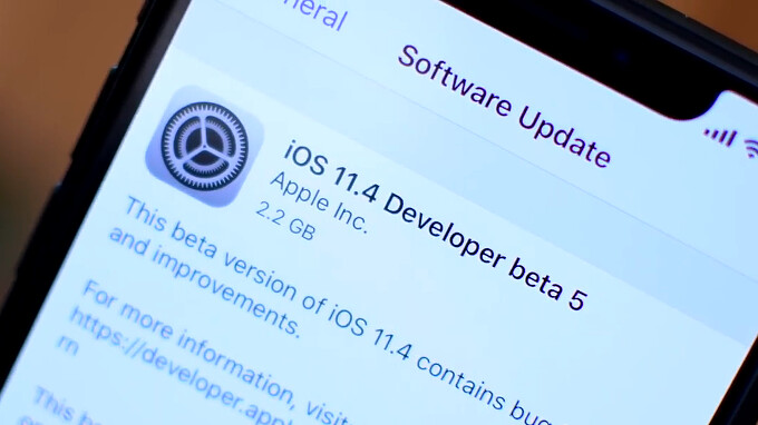 Apple releases iOS 11.4 beta 5 gold master update for iPhone and iPad