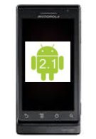 Android 2.1 update for the Motorola DROID now being pushed out
