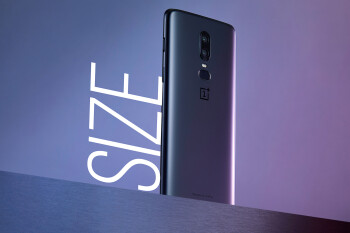 OnePlus 6 size comparison versus all of its rivals