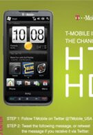 Five HTC HD2 smartphones being given away by T-Mobile