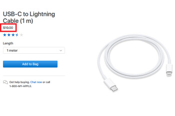 USB-C to Lightning cable price cut to $19 hints at a change inside the 2018 Apple iPhone box