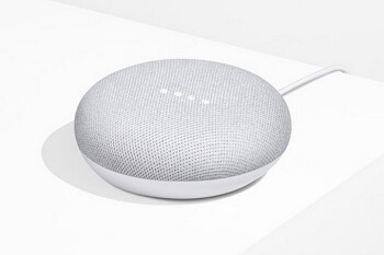 Picture from Spend $125 or more pre-tax at Google Express and get a free Google Home Mini in Chalk ($49 value)