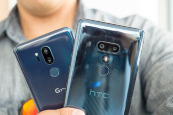 Picture from HTC U12+ vs LG G7 ThinQ: first look