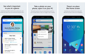 Microsoft Launcher soon to get Visual Search feature, Microsoft Rewards support