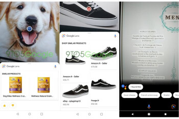 Google Lens update changes UI design, adds smart text selection
