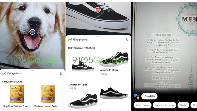 Google Lens Update ändert UI-Design, fügt die intelligente Textauswahl