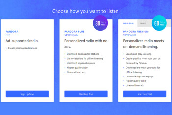 Pandora adds a premium family plan priced at $14.99 per month for up to six family members