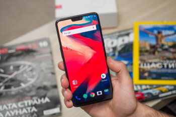 The OnePlus 6 is actually water-resistant, but don't go swimming with it