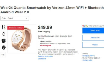 You can still buy Verizon's Wear24 smartwatch for just $49.99