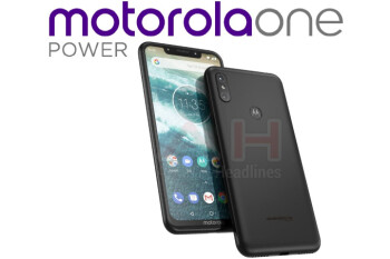 Unannounced Motorola One Power leaks out, features a notch and iPhone X-like dual camera