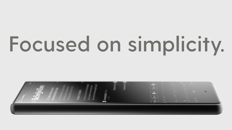 Meet BllocZero18, the simplistic phone that celebrates minimalism in black and white