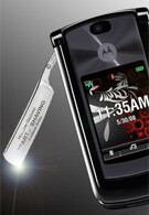 Motorola RAZR with an actual razor coming to all carriers?