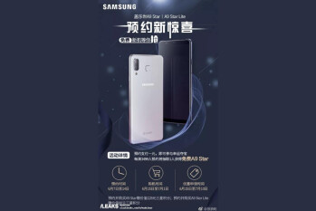 Poster reveals Galaxy A9 Star, A9 Star Lite will be unveiled June 7