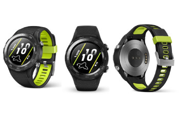 Huawei Watch 2 2018 is official: Bluetooth and nano-SIM variants confirmed