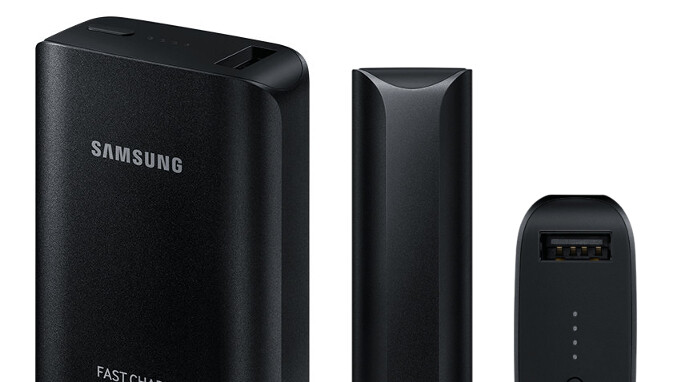 Grab a Samsung Fast Charge power bank for more than half off here!