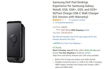 Deal: The new Samsung DeX Pad is nearly half off on Amazon