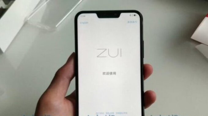 Hands-on images suggest budget Lenovo Z5 complete with notch may be coming