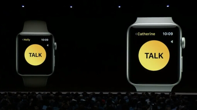 Apple gunning for parents' pockets with new WatchOS 5 walkie-talkie feature