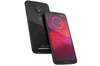 Flagship Moto Z3 appears in official render, looks identical to Moto Z3 Play